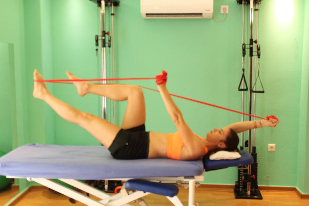 ασκησεις σταθεροποιησης μεσης